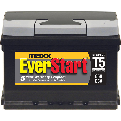 EverStart Maxx Lead Acid Automotive Battery, Group T5