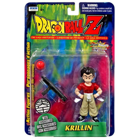 Dragon Ball Z Krillin Action Figure [Red (Red Jade Dragon)