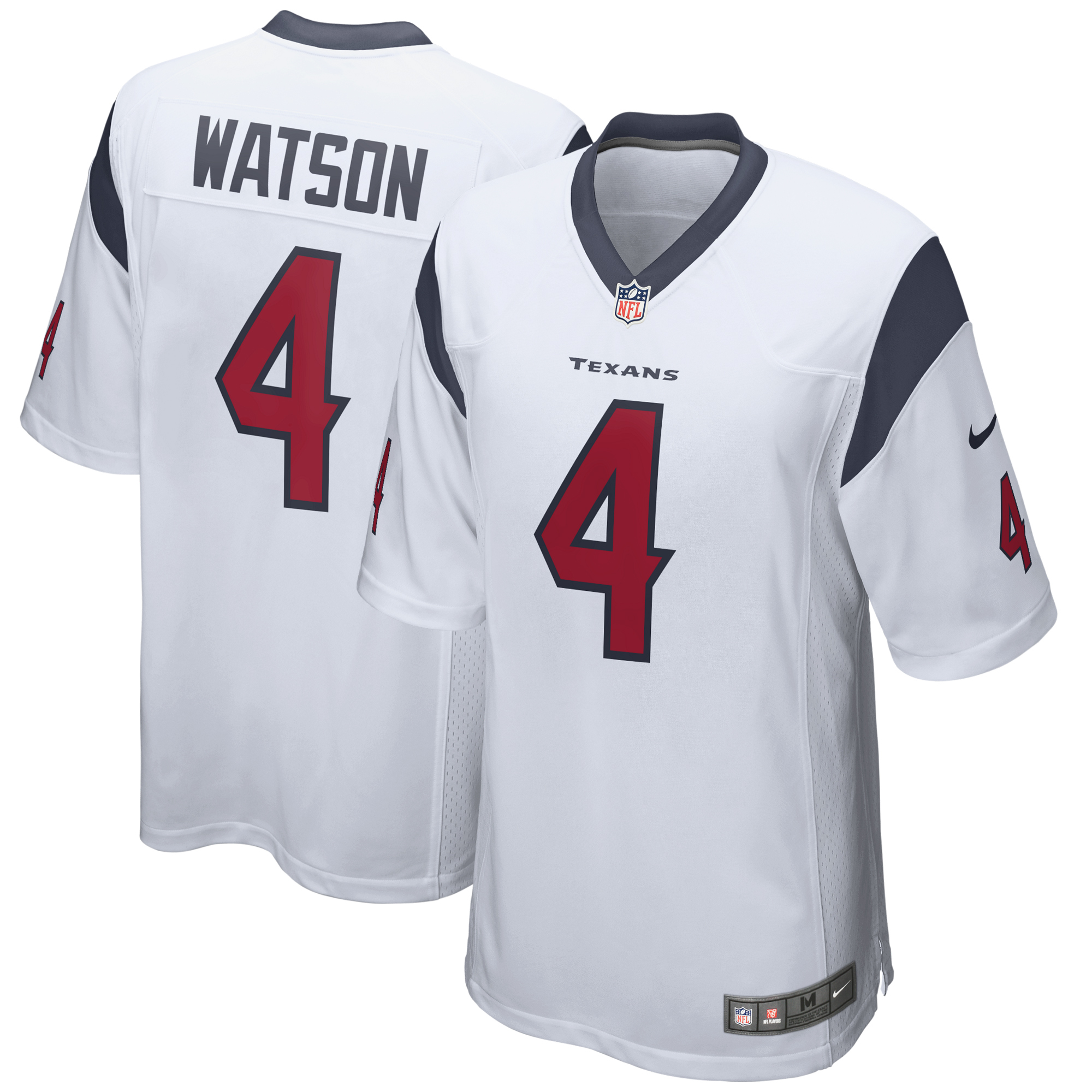 Deshaun Watson Houston Texans Nike Youth Game Jersey - White