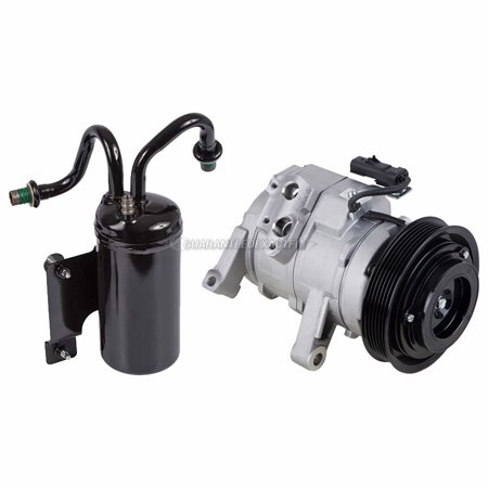 AC Compressor w/ A/C Drier For Dodge Ram 1500 2004 2005 2006
