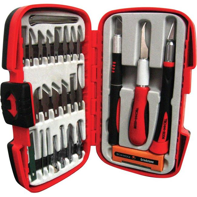 IDL Techni Edge 2303238 Deluxe Hobby Knife Set, 29 Piece - image 1 of 1