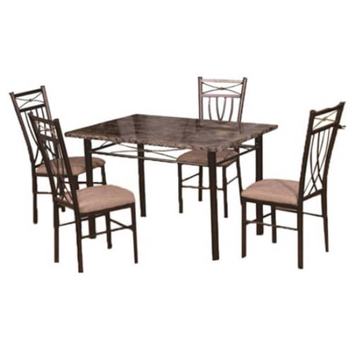 Hodedah Table and 4 Chairs