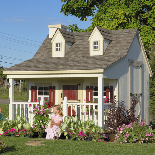 Little Cottage Company Pennfield 11x8 Playhouse by Little Cottage Company