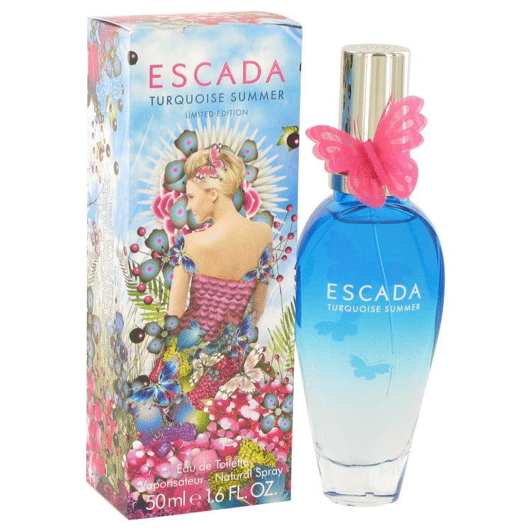 Escada Turquoise Summer Eau de Toilette Spray, 1.6 Fl Oz