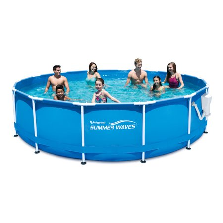 Play day 15 39 metal frame pool for Summer waves above ground pool review