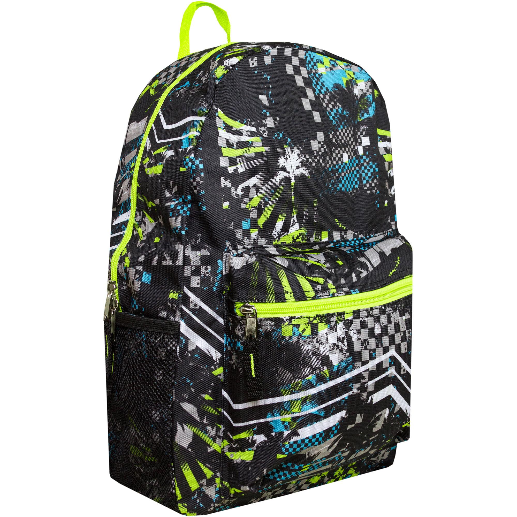 "Pacific Coast Print 17"" Backpack"