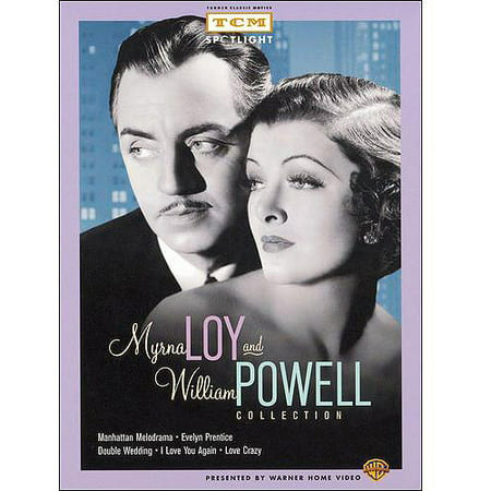 Myrna Loy and William Powell Collection (Manhattan Melodrama / Evelyn Prentice / Double Wedding / I Love You Again