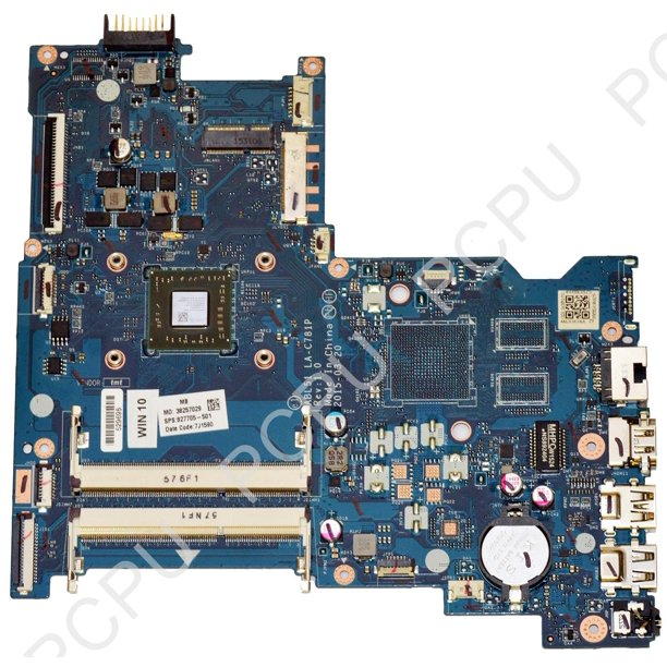 827705 501 Hp 15 Af Laptop Motherboard W Amd A6 5200 2 0ghz Cpu Walmart Com Walmart Com