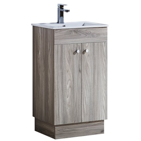 Ceramic Bathroom Vanity - 19.5