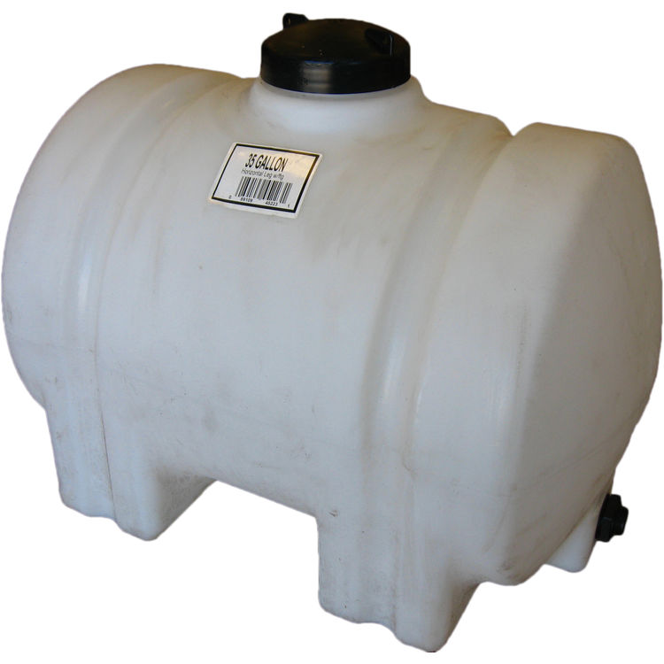Norwesco 45223 35 Gallon Horizontal Water Tank by