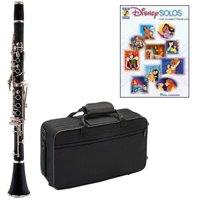 Disney Solos Clarinet Pack - Includes Clarinet w/Case & Accessories & Disney Solos Play Along Book