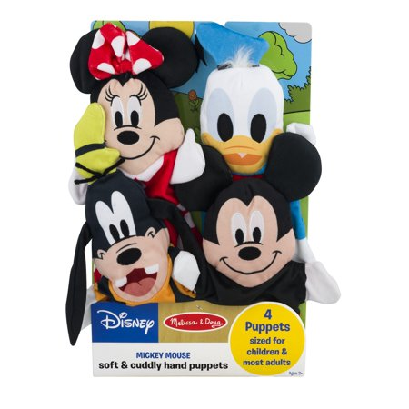 Disney Soft & Cuddly Hand Puppets, 4.0 CT