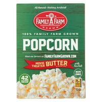 Black Jewell Popcorn - Micro - Mve Thr Butter - Case Of 6 - 9 Oz