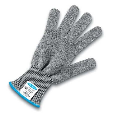 Edmont 74-048-XL Polar Bear PawGard Medium Weight Cut Resistant Gloves with Extended TUFF CUFF II, X-Large, Gray/White By Ansell