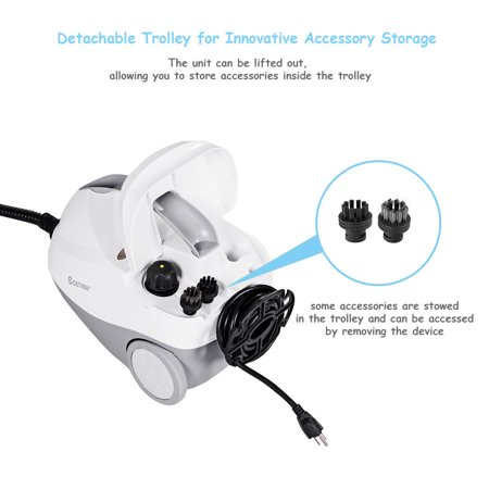 2000w Heavy Duty Portable Steam Cleaner Mop Multi Purpose