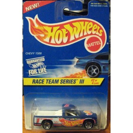 Hot Wheels Race Team Series III Chevy 1500 Truck #534 1:64, 1:64 By