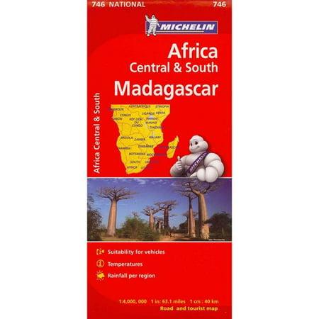 Michelin Africa Central   South Madagascar