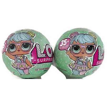 Lol Surprise Lil Outrageous Littles Series 2 Lets Be Friends  Lot Of 2 Mystery Packs