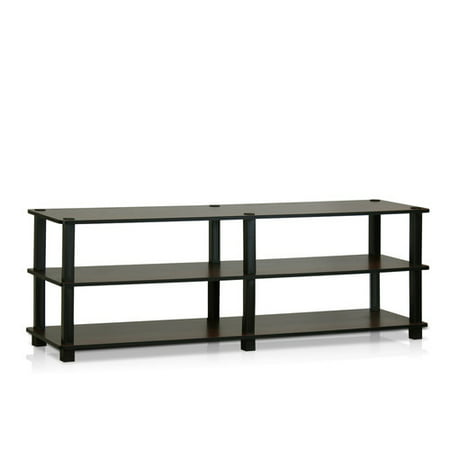 Furinno Turn-S-Tube No Tools 3-Tier Entertainment TV Stand, Multiple Colors ()