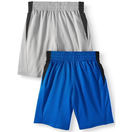 Mesh Shorts Value, 2-Pack (Little Boys & Big Boys)