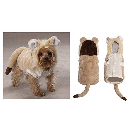 Lil' Lion Dog Costume Lion King Dog Costume Furry Mane Hood LARGE ONLY CLOSEOUT