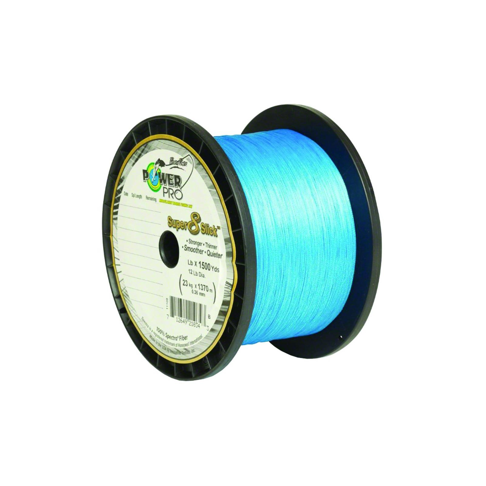 Click here to buy Power Pro Super Slick 8 Braid Fishing Line 10lb 1500yd Hi-Vis YELLOW SS-10-1500y by Power Pro.