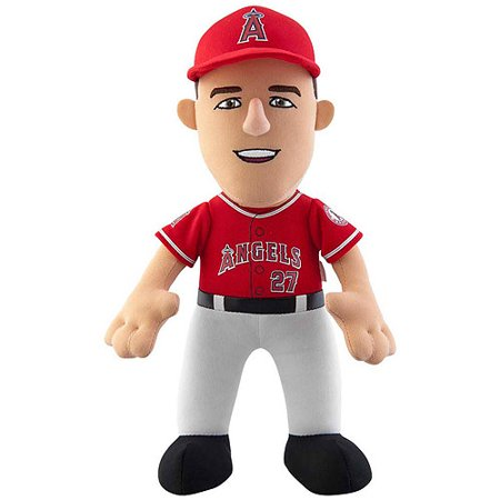 Mlb Player 10  Plush Doll Los Angeles Angels  Mike Trout Alternate Jersey