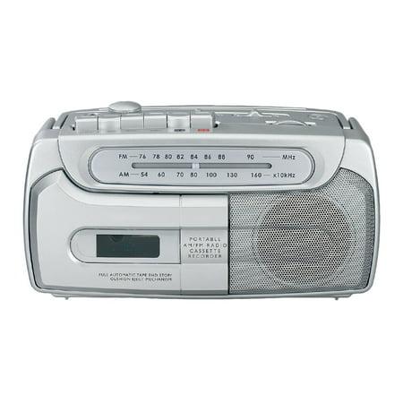 Sylvania SRC120 Am fm Cassette Recorder by