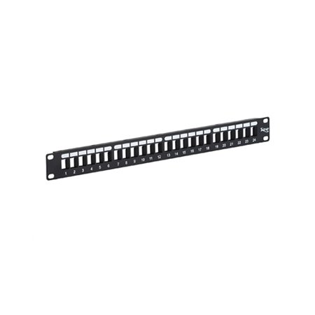 Patch Panel  Blank  Hd  24 Port  1 Rms