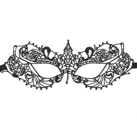 Halloween Sleepy Hollow (Fashion Elegant Hollow Out Lace Design Halloween Masquerades Party Eye Mask -)