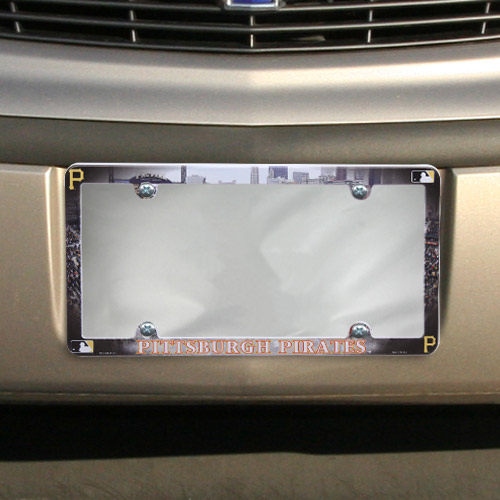 Pittsburgh Pirates Stadium Plastic License Plate Frame - No Size