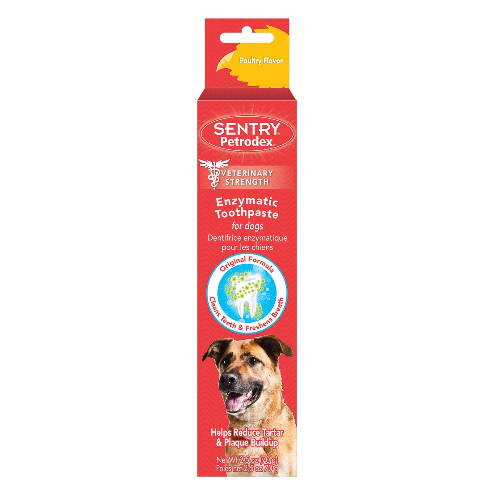 Petrodex 51101 2.5 oz Poultry Flavor Dog Toothpaste