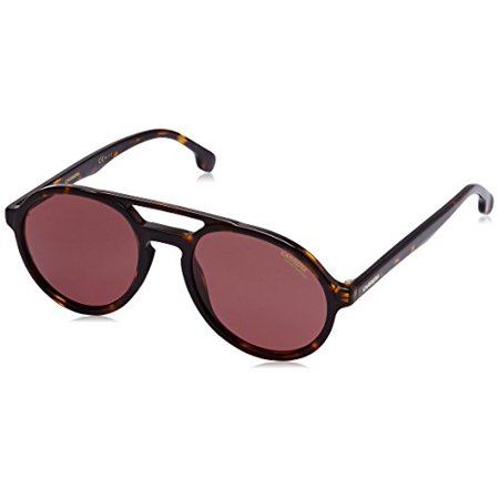 03fddae66f Carrera - Carrera Plastic Aviator Sunglasses 53 0086 Havana W6 burgundy  polarized lens - Walmart.com