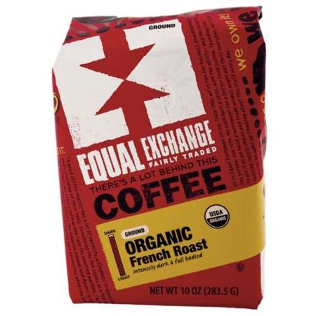 Equal Exchange - Equal Exchange Organic French Roast Coffee 10 oz 3 PACK SD