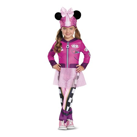 Minnie Roadster Classic Child Costume](Mickey And Minnie Halloween Costumes For Girls)