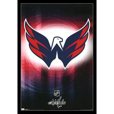 Washington Capitals - Logo 2010 Poster Print Washington Capitals Alexander Ovechkin Poster