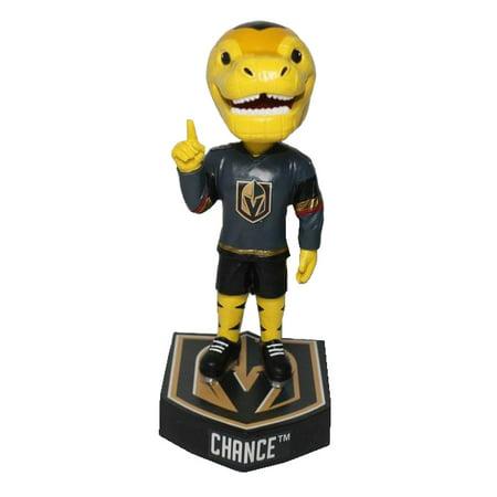 Chance (Las Vegas Knights) Mascot Logo Base Bobblehead by Kolletico