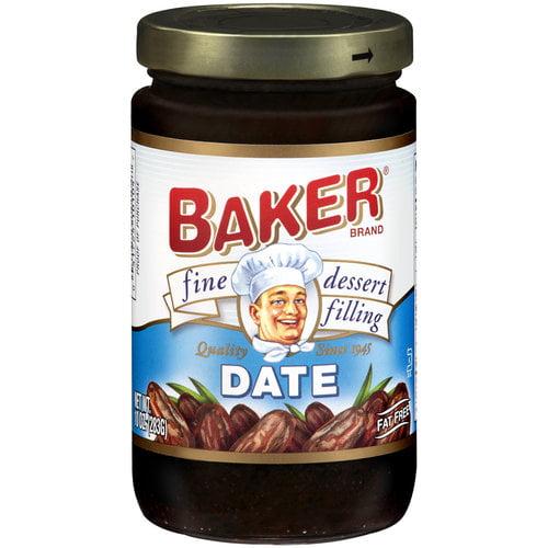 Baker Date Fine Dessert Filling, 10 oz