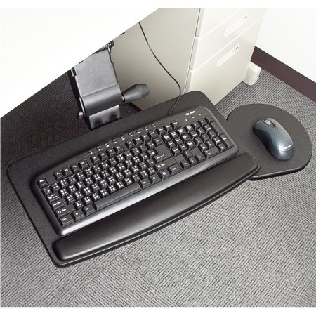 Cotytech Keyboard Mouse Tray (Retractable Articulating Keyboard Tray)