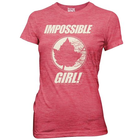 Doctor Who T-Shirt - Impossible Girl - Womens