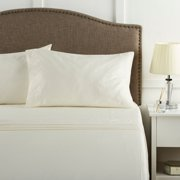 Better Homes & Gardens 300 Thread Count 100% Cotton Wrinkle Resistant Sheet Set, King Vanilla Dream
