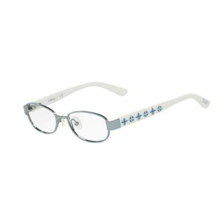 Disney Princess Womens Eyeglasses - DISNEY Eyeglasses 3E1004 3171 Satin Blue/White 45MM