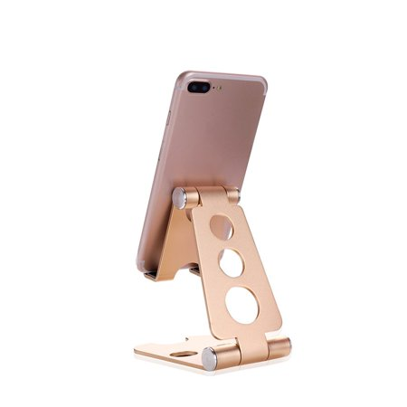Multifunctional Small Size Universal Aluminum Alloy Tablets Smartphone Stand - image 4 de 6