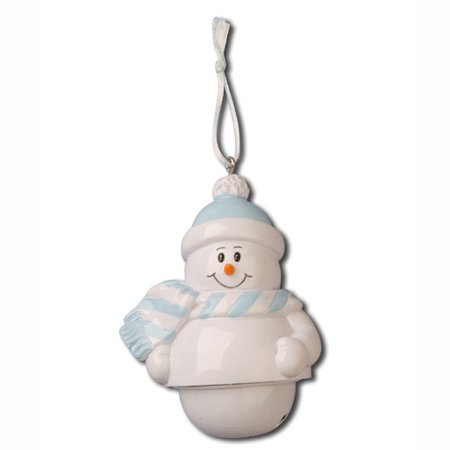 Bells Snow Baby Blue Personalized Christmas Ornament DO-IT-YOURSELF](Christmas Art For Toddlers)