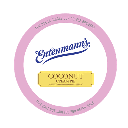 Entenmann's Single Serve Coffee for Keurig, Coconut Cream Pie, 20