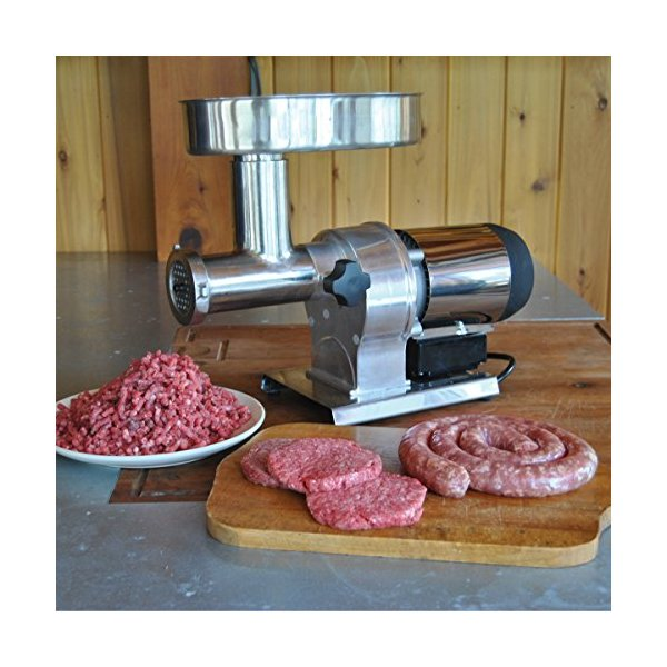 Weston Butcher Series #8 Electric Meat Grinder (½ HP)
