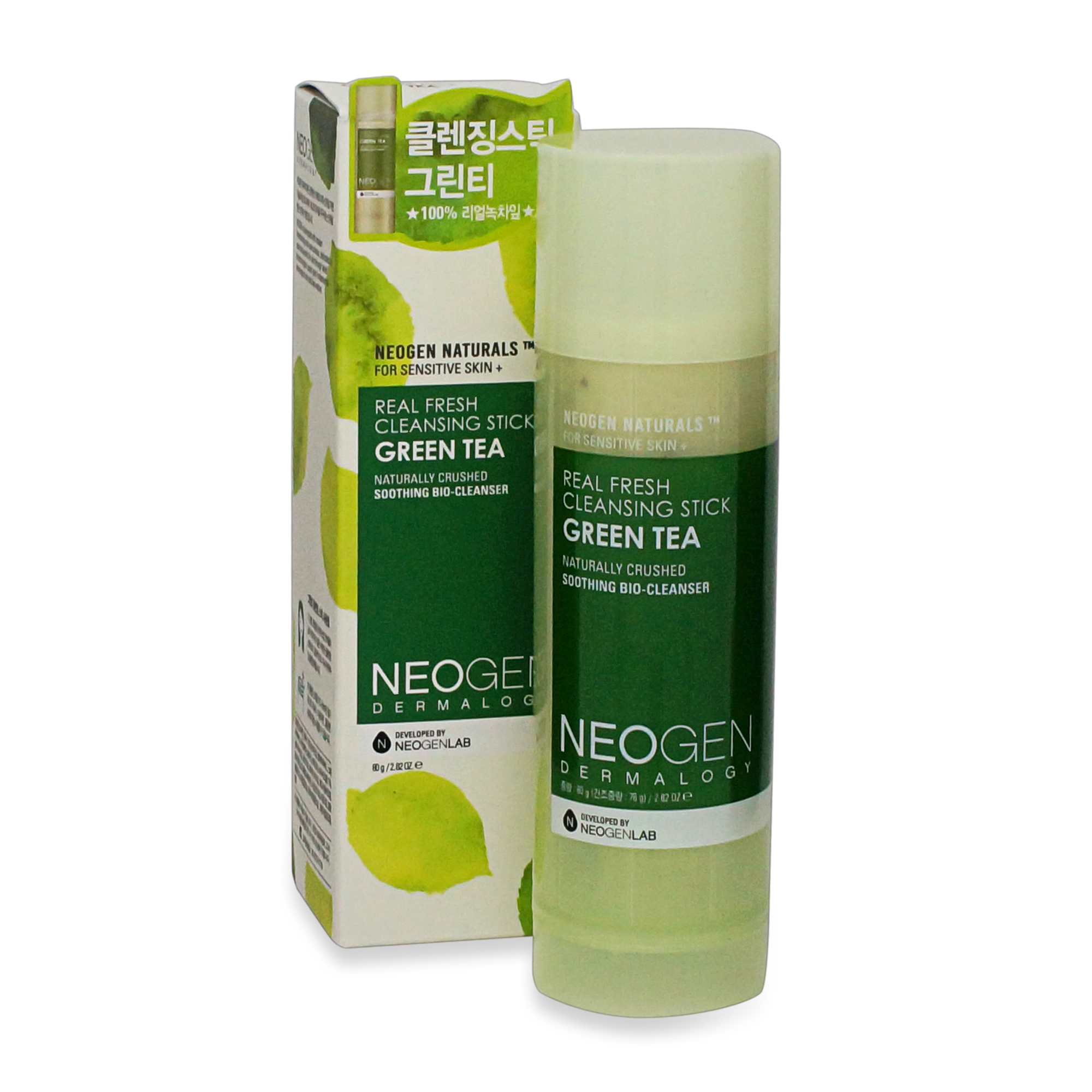 Neogen Real Fresh Cleansing Stick Green Tea, Face