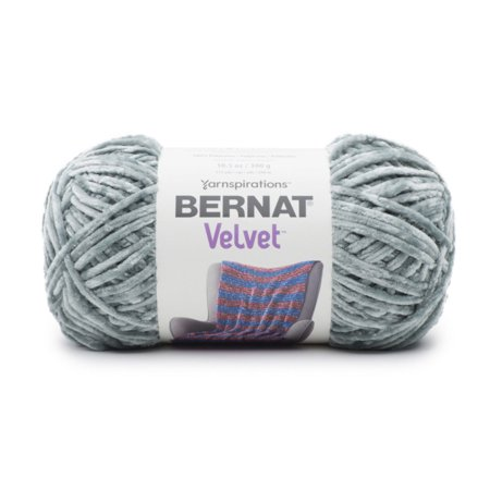 Craft County Super Soft Velvet Yarn 315 Yard Skein - Size 5 Bulky - 100% Polyester - Hand Wash Cold - Super Velvet
