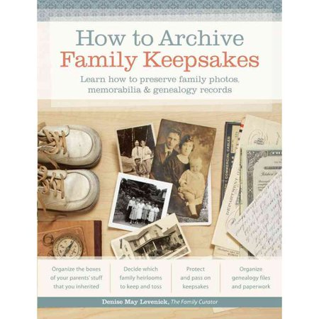 How To Archive Family Keepsakes  Learn How To Preserve Family Photos  Memorabilia   Genealogy Records