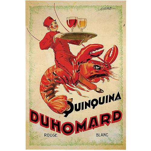 "Trademark Fine Art ""Quinquina Duhomard"" Canvas Art by Dorti-Albert Dorfinant, 18x24"